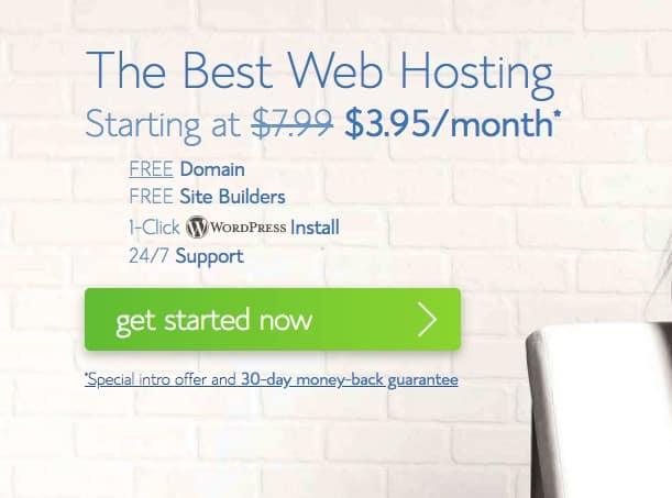 Bluehost price for your website or blog