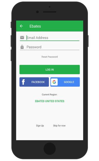 use the Rakuten app to get money for free
