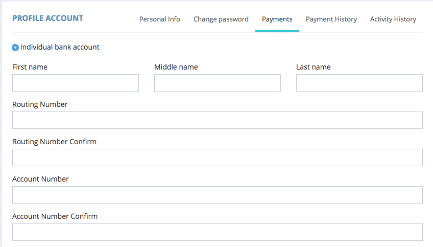 Airmule payment information so you can get paid