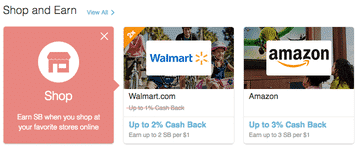 Swagbucks shop and earn to get cash back