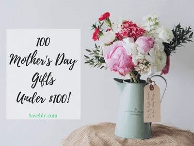 Check out these 100 mother's day gift ideas all under $100! Get her a mother's day gift that she will love and will actually use! #mothersday #gift