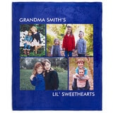 personalized blanket gift for mother's day
