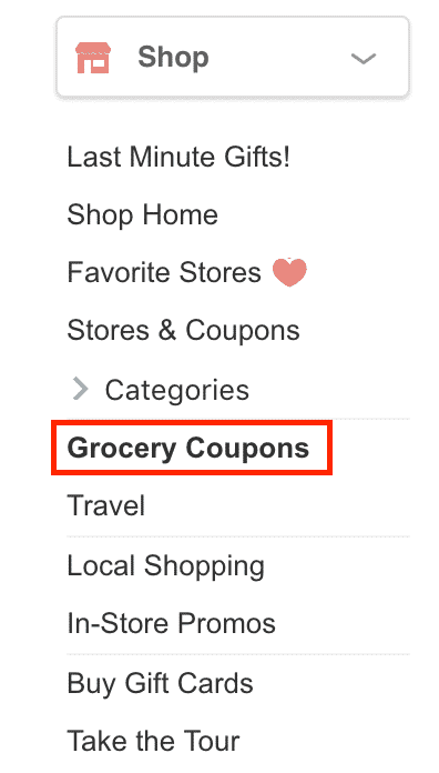 Swagbucks Grocery Coupons
