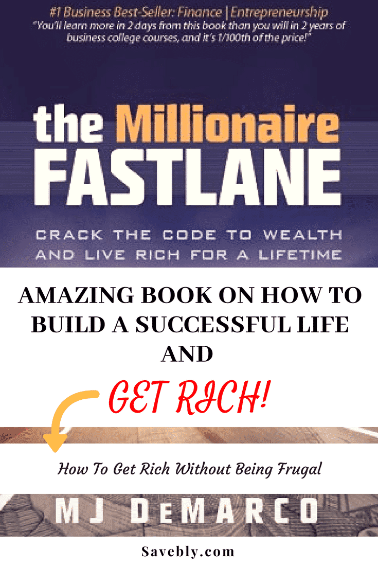 The Millionaire Fastlane is amazing. Not everyone wants to get rich slow by being frugal and if this is you then this book is a great read. I think everyone in personal finance should read this book!