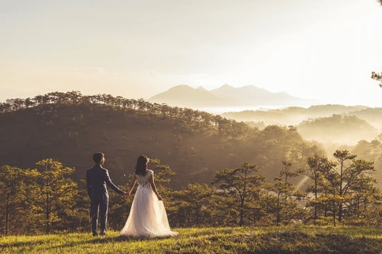 Use your drone for wedding photography to make money with a drone