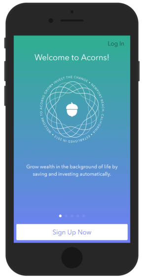 Acorns is one of the best investing apps for beginners