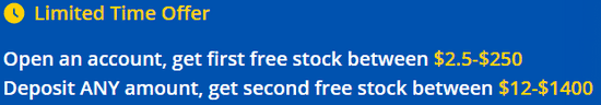 Get a free stock from Webull