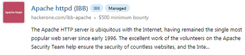 example of bounty reward