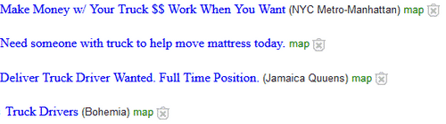 examples of jobs