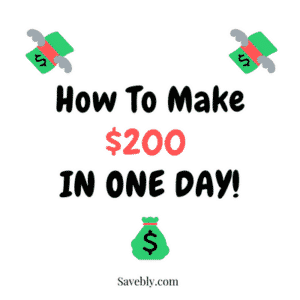 Learn how to make 200 dollars in one day