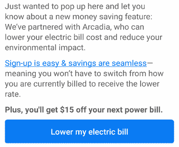 Use Truebill negotiation to save money on your electric bill