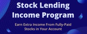 Webull Stock Lending Program