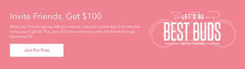 Ibotta Referral Bonus