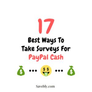 Surveys For PayPal Cash