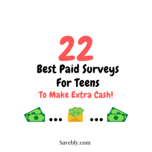 Best Paid Surveys For Teens