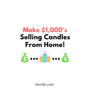 Make money selling candles from home